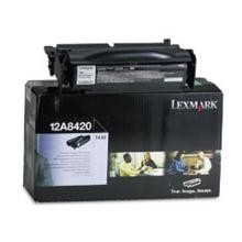Original Lexmark 12A8420 Return Program Toner Cartridge