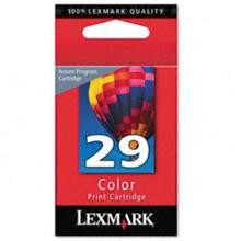 Original Lexmark 18C1429 #29 Return Program Color Ink Cartridge