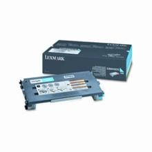 Original Lexmark C500H2CG High Yield Cyan Toner Cartridge