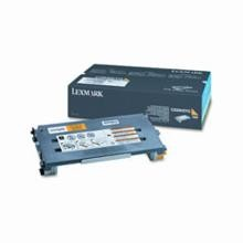 Original Lexmark C500H2YG High Yield Yellow Toner Cartridge