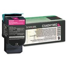 Original Lexmark C540H1MG High Yield Magenta Return Program Toner Cartridge