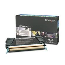 Original Lexmark C736H1KG High Yield Black Return Program Toner Cartridge