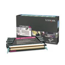 Original Lexmark C736H1MG High Yield Magenta Return Program Toner Cartridge