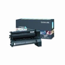 Original Lexmark C7700CH High Yield Cyan Return Program Print Cartridge