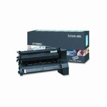 Original Lexmark C7700KH High Yield Black Return Program Print Cartridge