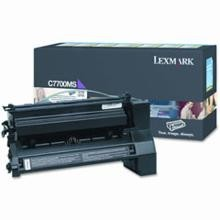 Original Lexmark C7700MS Magenta Return Program Print Cartridge