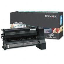 Original Lexmark C780A1KG Return Program Black Toner Cartridge