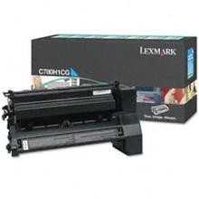 Original Lexmark C780H1CG High Yield Cyan Return Program Toner Cartridge