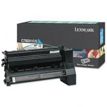 Original Lexmark C782X1CG Extra High Yield Cyan Return Program Toner Cartridge