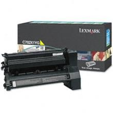 Original Lexmark C782X1YG Extra High Yield Yellow Return Toner Cartridge