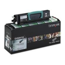 Original Lexmark E450A11A Return Program Toner Cartridge
