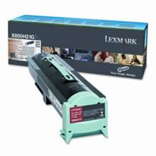 Original Lexmark X850H21G High Yield Toner Cartridge