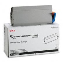 Original Okidata 41963004 Black Toner Cartridge