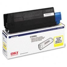 Original Okidata 43034801 Yellow Toner Cartridge