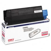Original Okidata 43034802 Magenta Toner Cartridge