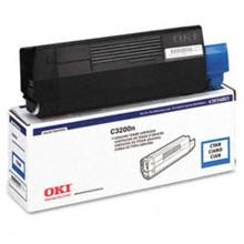Original Okidata 43034803 Cyan Toner Cartridge