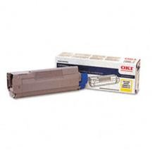 Original Okidata 43324417 Yellow Toner Cartridge