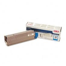 Original Okidata 43324468 Cyan Toner Cartridge