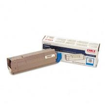 Original Okidata 43487735 Cyan Toner Cartridge