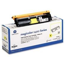 Original Minolta 1710587-005 High Capacity Yellow Toner Cartridge