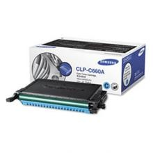 Original Samsung CLP-C660A Cyan Toner Cartridge