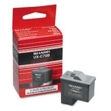 Original Sharp UX-C70B Black Ink Cartridge