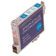 Remanufactured Epson T044220 Cyan Ink Cartridge