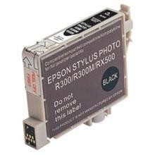 Remanufactured Epson T048120 Black Ink Cartridge