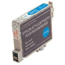 Remanufactured Epson T048220 Cyan Ink Cartridge