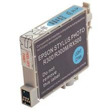 Remanufactured Epson T048520 Light Cyan Ink Cartridge