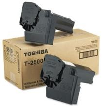 Original Toshiba T-2500 Black Toner 2 Pack