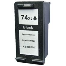 Remanufactured HP 74XL CB336WN High Capacity Black Ink Cartridge