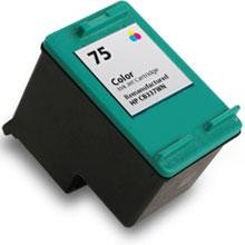 Remanufactured HP 75 CB337WN Color Ink Cartridge