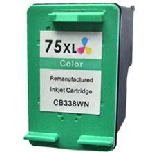 Remanufactured HP 75XL CB338WN High Capacity Color Ink Cartridge