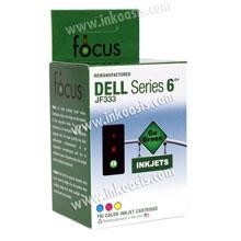 Remanufactured Dell Series 6 Color Ink Cartridge