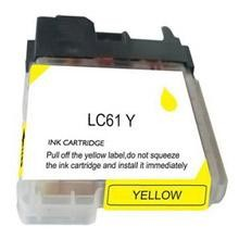 Compatible Brother LC61Y Yellow Ink Cartridge
