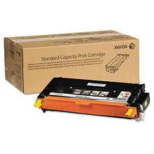 Original Xerox 106R01390 Standard Capacity Yellow Toner Cartidge