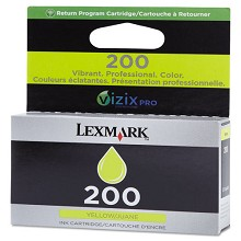 Lexmark 14L0088 #200 Yellow Return Program Ink