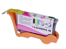 Compatible Lexmark 100XL 14N1070 High Yield Magenta Ink Cartridge