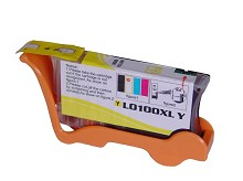 Compatible Lexmark 100XL 14N1071 High Yield Yellow Ink Cartridge