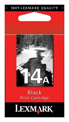 Original Lexmark 18C2080 #14A Black Ink Cartridge