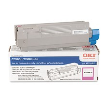 Original Okidata 43324402 High Yield Magenta Toner Cartridge