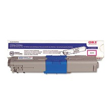 Original Okidata 44469702 (Type C17) Magenta Toner Cartridge