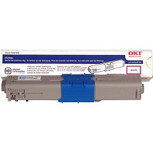 Original Okidata 44469720 High Yield Magenta Toner Cartridge