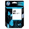 Genuine HP 40 51640A Black Ink Cartridge