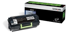 Original Lexmark 521H High Yield Return Program Toner Cartridge