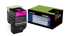 Original Lexmark 701HM High Yield Magenta Return Program Toner