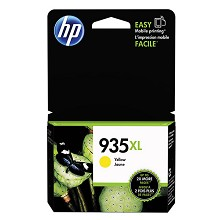Genuine HP 935XL C2P26AN High Capacity Yellow Ink Cartridge