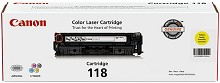 Original Canon Type 118 Yellow Toner Cartridge