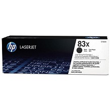 Genuine HP 83X CF283X High Yield Black Toner Cartridge